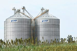 silos armazenadores